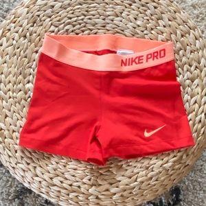 Women's Nike Pro Athletic Shorts
